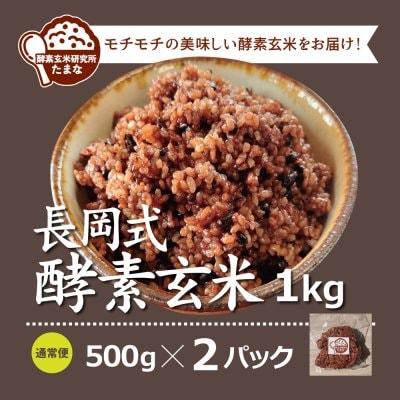 500g ×2パック長岡式酵素玄米