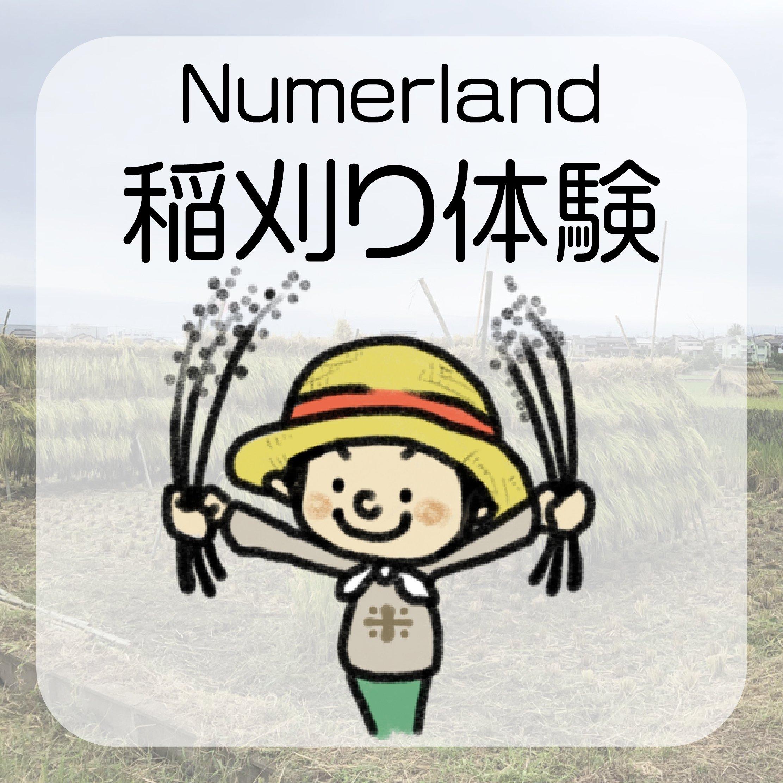 ヌマーランド稲刈り体験チケットのイメージその1