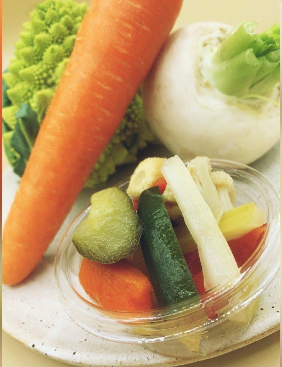 【テイクアウト専用】季節野菜の自家製ピクルスのイメージその1