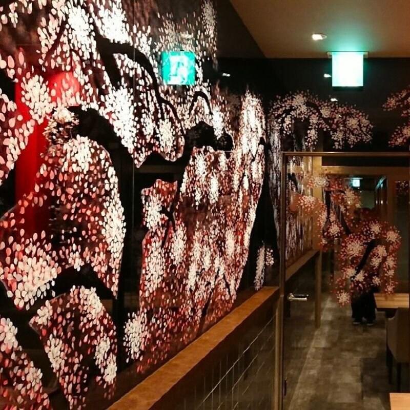 カスタムペイント 壁面塗装(セントレア内装)のイメージその2