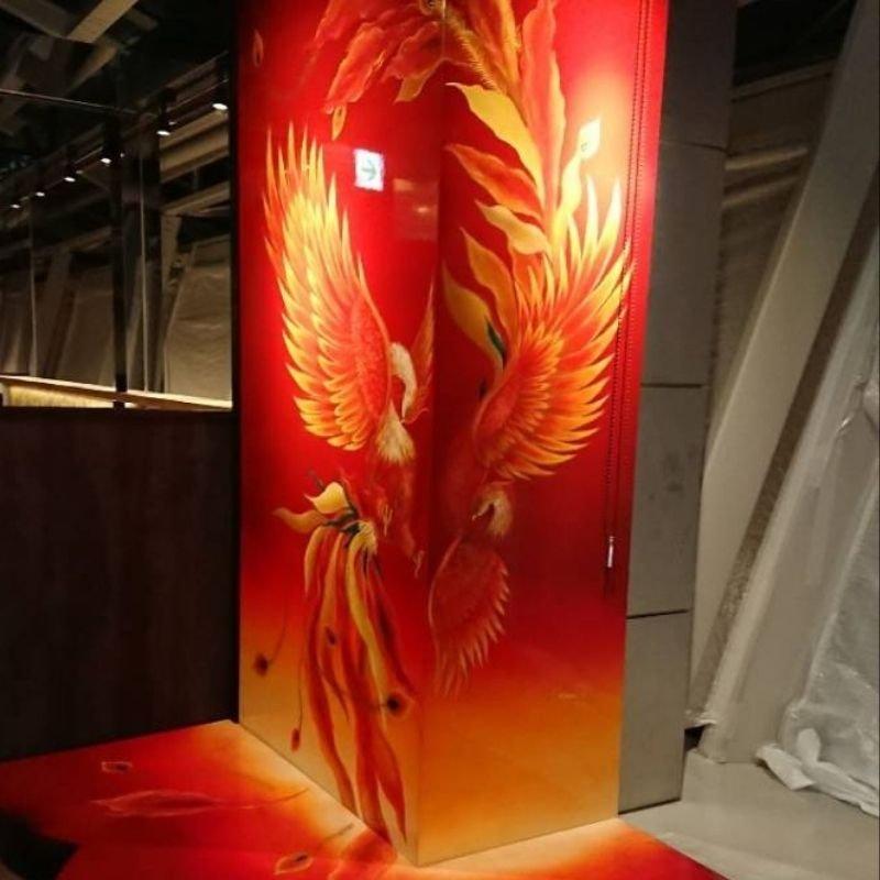カスタムペイント 壁面塗装(セントレア内装)のイメージその4