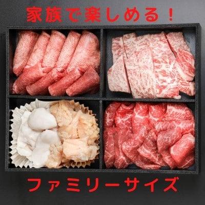 人気5種盛合せ(3〜4人用)黒毛和牛を家族で楽しむ!おうち焼肉!凍眠冷凍』
