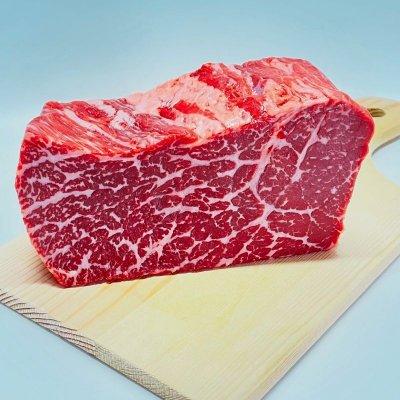 男は黙って塊肉!【のざき牛】上もも塊肉 約400g(凍眠冷凍)史上初!2年連続最高賞受賞の最高級黒毛和牛