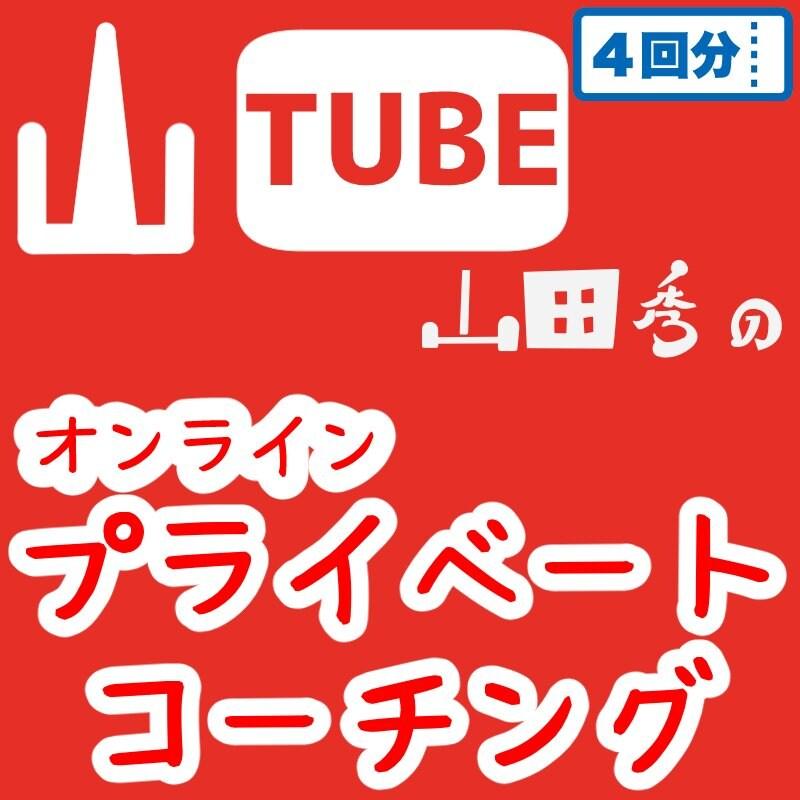 (4回分)山TUBE山田秀によるオンラインプライベートコーチングのイメージその1