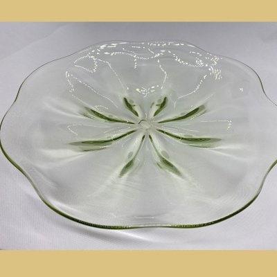 ガラス皿  大