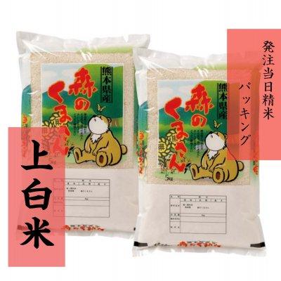 ☆送料無料☆10kg(5kg×2)上白米【熊本県北産】森のくまさん(新米)