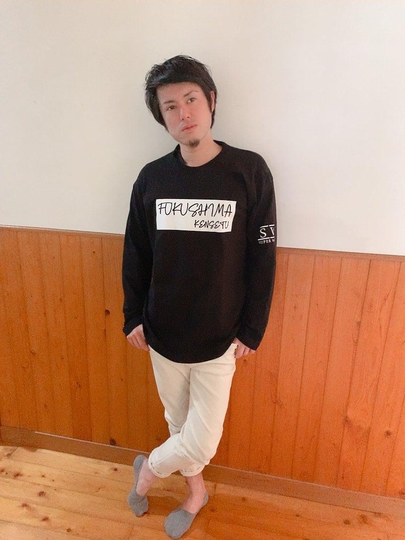 福島建設オリジナルTシャツ長袖のイメージその1