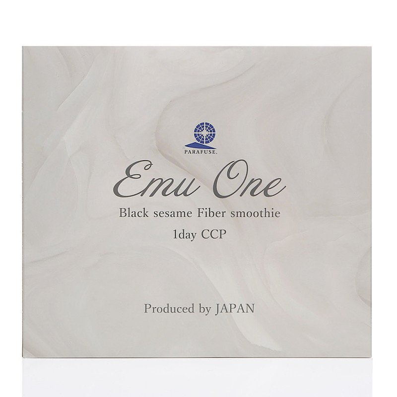 大腸デトックス Emu One「黒ゴマファイバースムージー」(エミューワン)のイメージその5