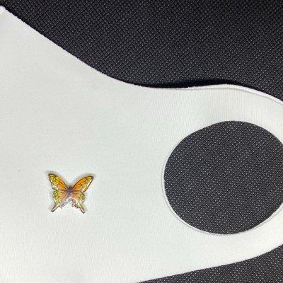 マスクアクセサリー 蝶 7