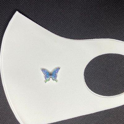 マスクアクセサリー 蝶 6