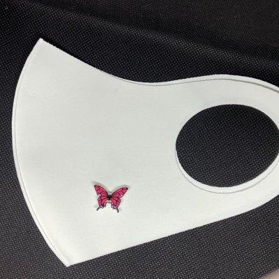 マスクアクセサリー 蝶 4