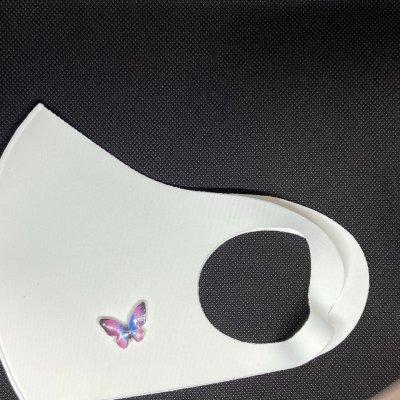 マスクアクセサリー 蝶 2