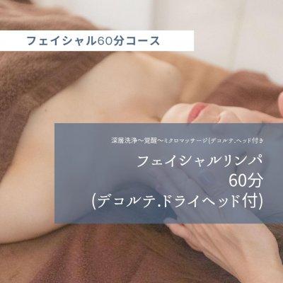 現地払い専用/フェイシャルリンパ/60分