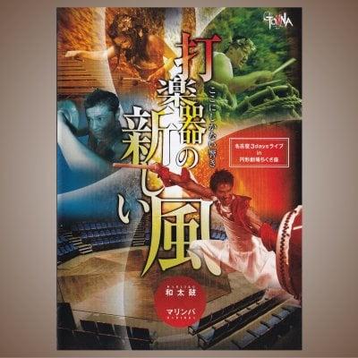 GONNA(ガナ)DVD「打楽器の新しい風」全12曲/和太鼓×マリンバ=迫力×癒し...