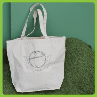 ガナエコバッグ|キャンバス地トートバッグ|コロナ対応一度にたくさん。...