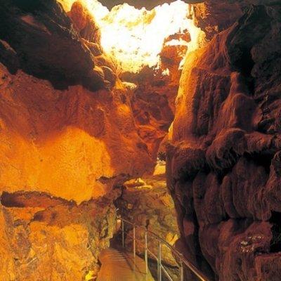 竜ヶ岩洞(りゅうがしどう)✿2億5千万年の歴史への誘い、神秘の大鍾乳洞…竜ヶ岩洞!/いなさマップ「よ」