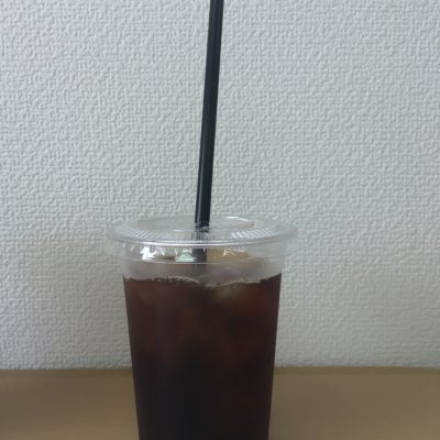 「あんぱさんど」ブラックコーヒー アイス Mサイズ