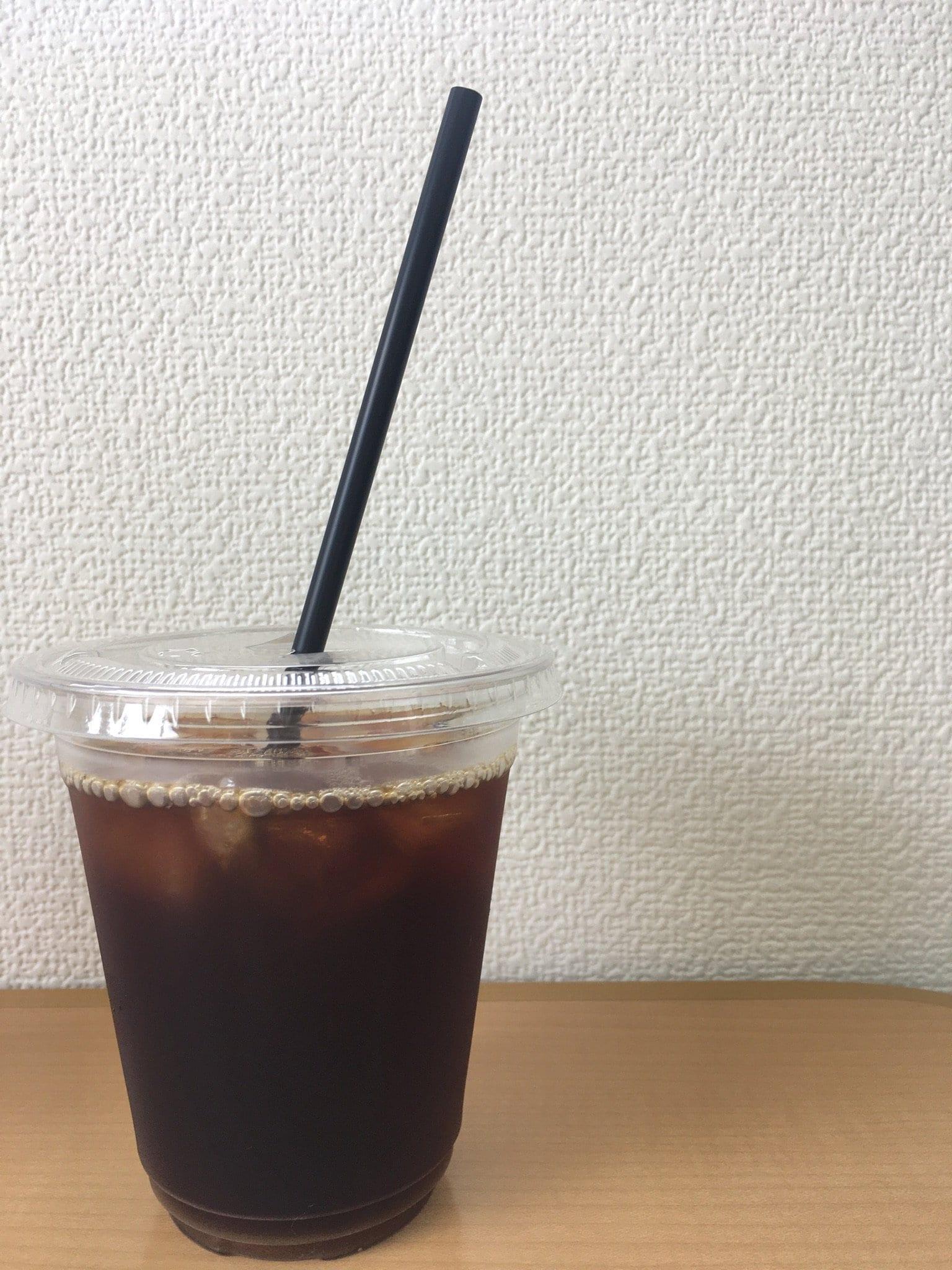 「あんぱさんど」ブラックコーヒー アイス Lサイズのイメージその1