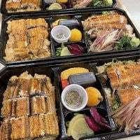 隆の鰻弁当3000円(鰻重とひつまぶしのお弁当、お茶漬け用の出汁付き)メルマガ会員様200円引き