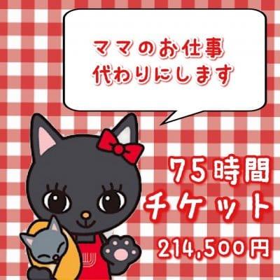 『75時間★産後お手伝いチケット/名古屋市内』