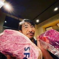 【コロナで苦境の取引先支援企画!】特選鮮魚と神戸ビーフ&のざき牛の食べ比べコース■1人前■