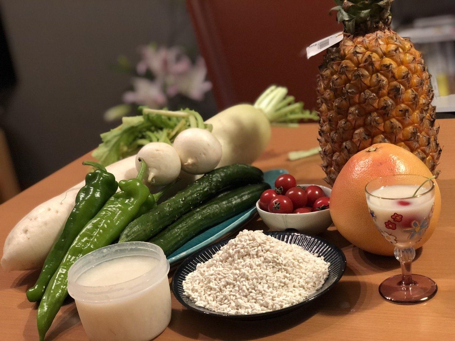 7月16日開催 甘酒・塩麹教室 仕込んだ塩麴、甘酒の野菜漬け、オリジナル麹付き! これで夏バテ知らずに腸活だ!のイメージその1