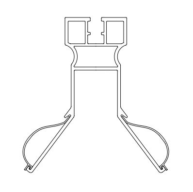 【特許商品】がに股君ベース(T88) 200mm