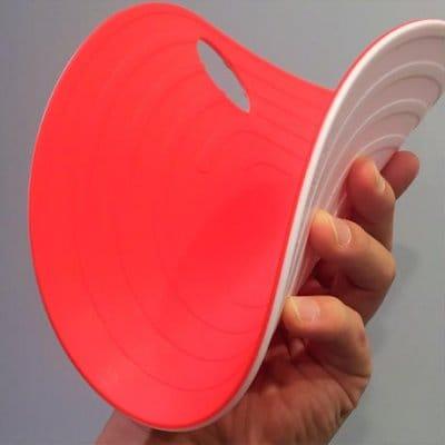 【 赤白10枚セット 】フラットマーカー