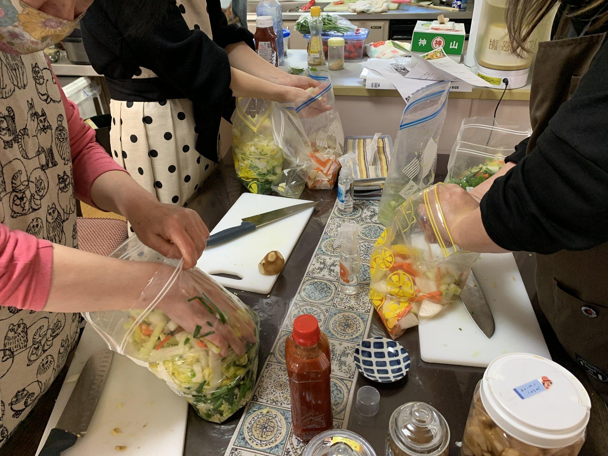 5月7日(金)ミネラル醗酵キムチ教室のイメージその3