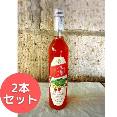 【2本セット】究極のいちごジュース 500ml