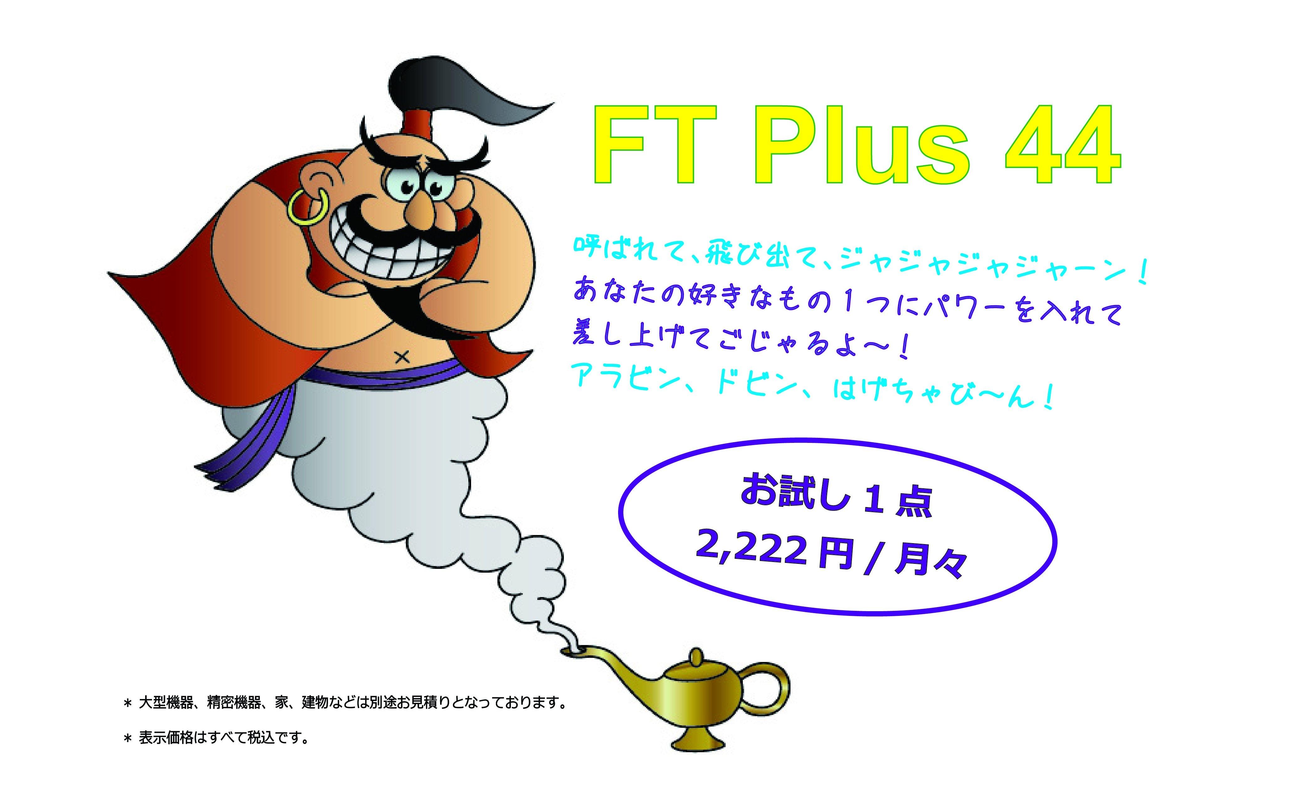 FT Plus 44 お試し1点のイメージその1