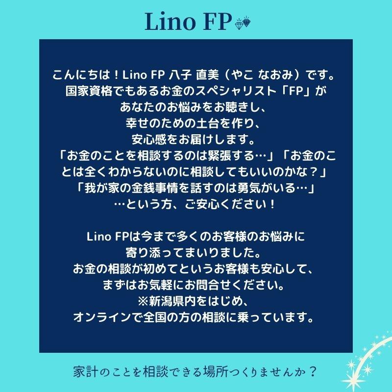 家計診断 12,000円/1時間✖️2回面談 Lino FPのイメージその2
