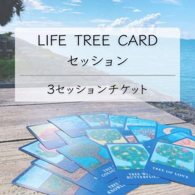 【3セッションチケット】ライフツリーカードセッション(1回:80分)