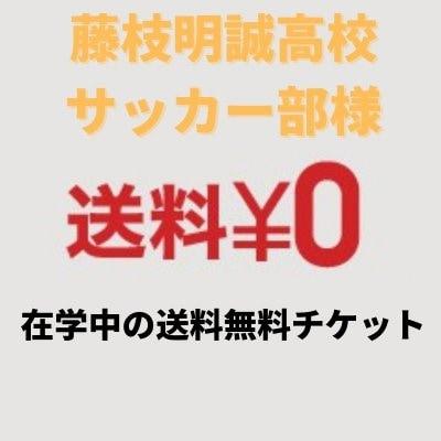 藤枝明誠高校サッカー部送料無料チケット