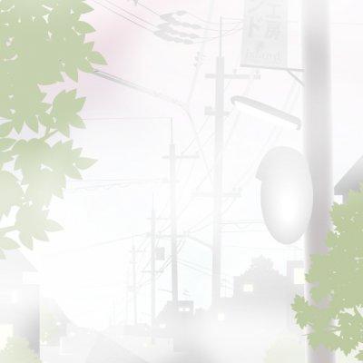 【秋】A4イラスト No.180 朝靄CatWalk