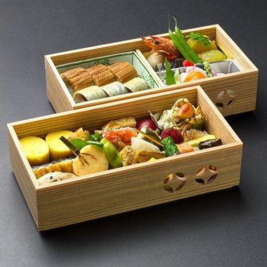 週末限定店頭渡 季節のお魚棒鮨お弁当のイメージその1