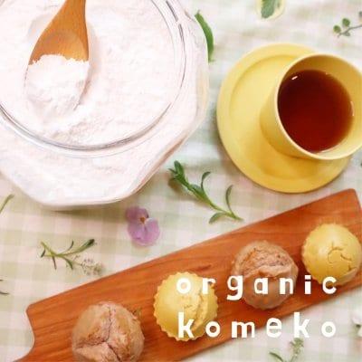 オーガ二ック 製菓・パン用米粉 500g