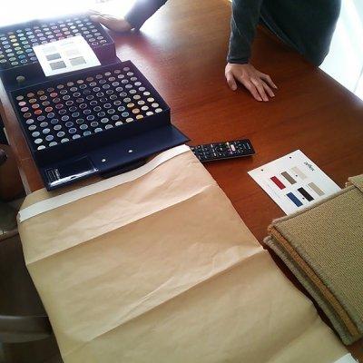 イージーオーダーカーペット 試作 見積もり オリジナルカラー糸毛玉  カットパイル COOLSTYLE N様用チケット