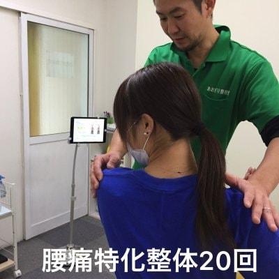 腰痛特化整体 20回