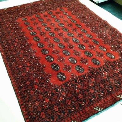 236x170cm|アフガン絨毯|リビング・ダイニング用絨毯|ラ|じゅうたん