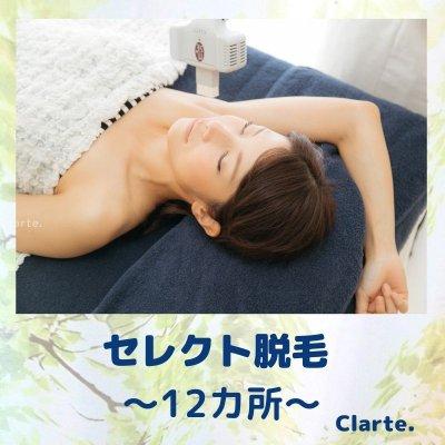 【12ヶ所】セレクト脱毛 北千住 西新井 脱毛 Clarte.(クラルテ)