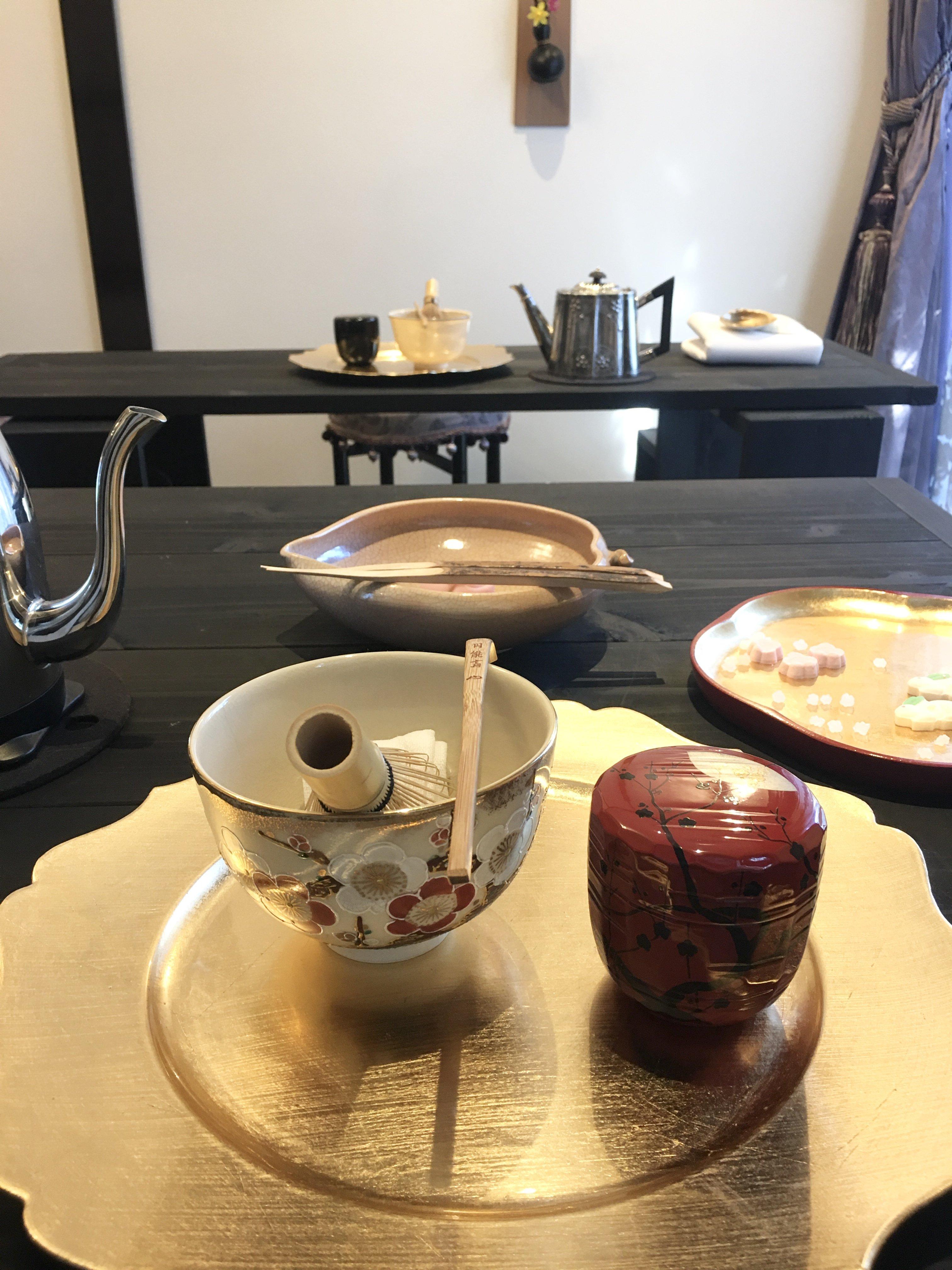 【テーブルスタイル茶道】継続レッスンのイメージその3