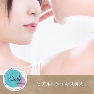 【オプション】ヒアルロンエキス導入