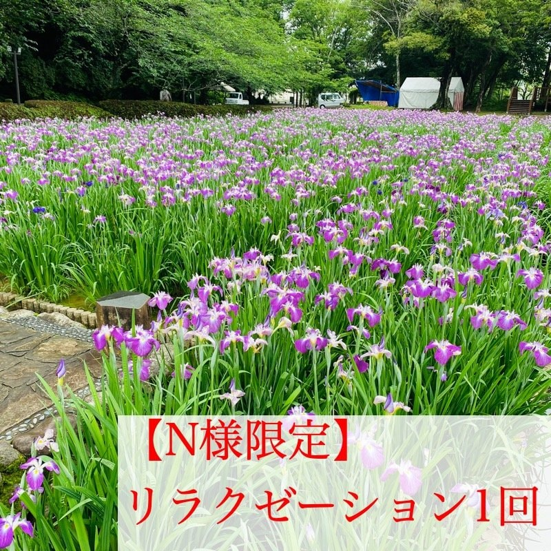 【N様限定】リラクゼーション/1回/施術/長崎大村のヒーリングサロンLuukのイメージその1