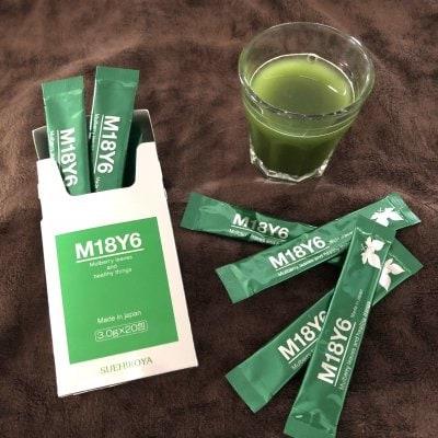 M18Y6 桑の葉&酵母 美ボディ青汁