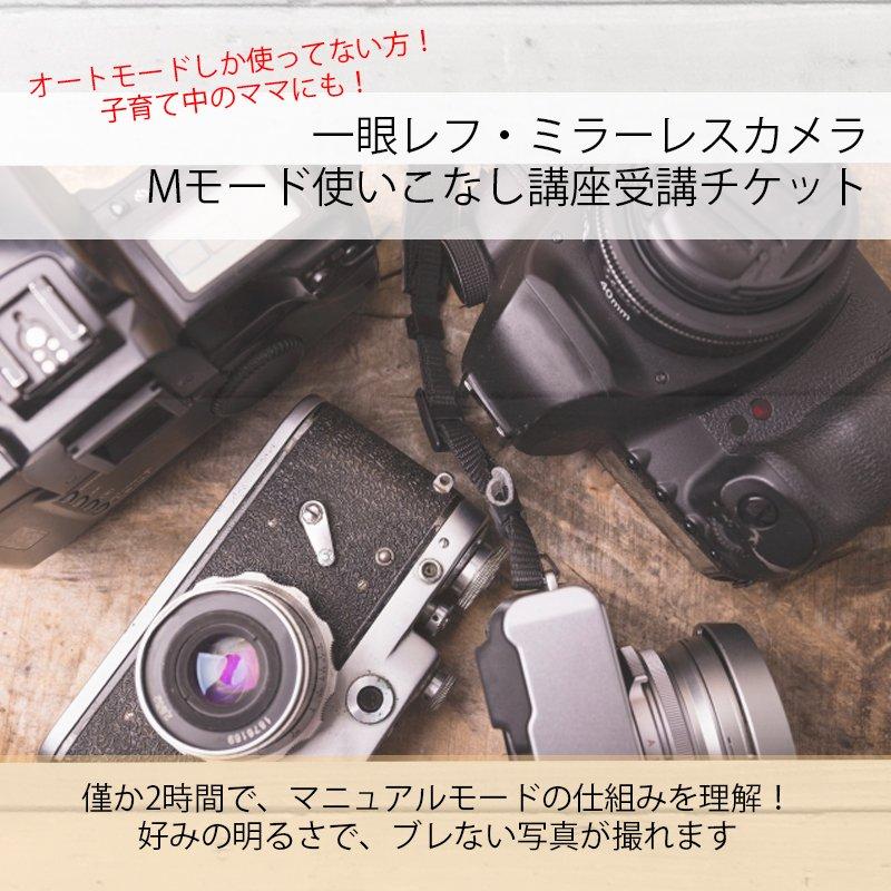【出張カメラ教室】|マニュアルモード使いこなし講座|★現地決済専用★|2時間で好みの写真を撮ろう|子連れOK|草加・越谷・三郷周辺のイメージその1