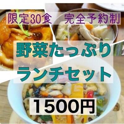 【事前予約チケット】9月23日《限定30食》野菜たっぷりランチセット ヘルスベース泉大津で当日限りご使用いただけるチケットです。