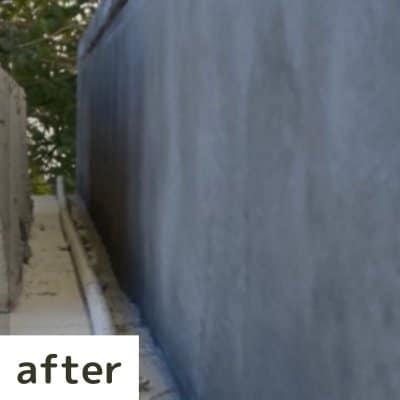 お墓の左官補修工事
