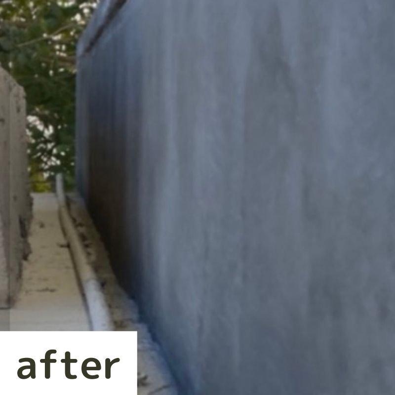 お墓の左官補修工事のイメージその1