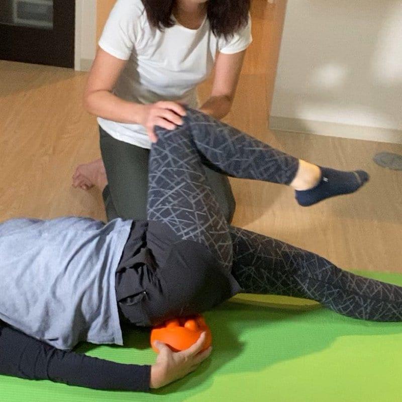 ESトレクッション付き下腹ぺたんこ体操のイメージその1